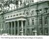 Royal College of Surgeons, London 1955